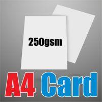 A4 White 250gsm Card