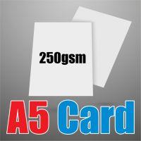 A5 White 250gsm Card