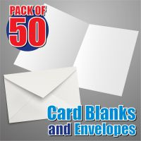 50 DL Card Blanks and Envelopes