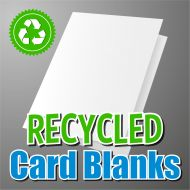 5x7 Recycled Card Blank